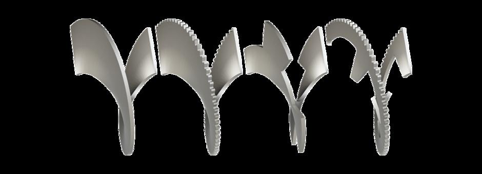 auger blades